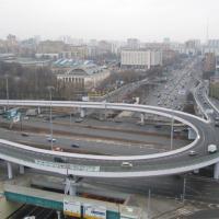 Комплекс эстакад на пересечении Беговой ул. с Ленинградским проспектом (2005 г.)